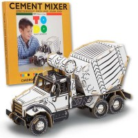 CEMENT MIXER CARDBOARD TOYS FOR KIDS