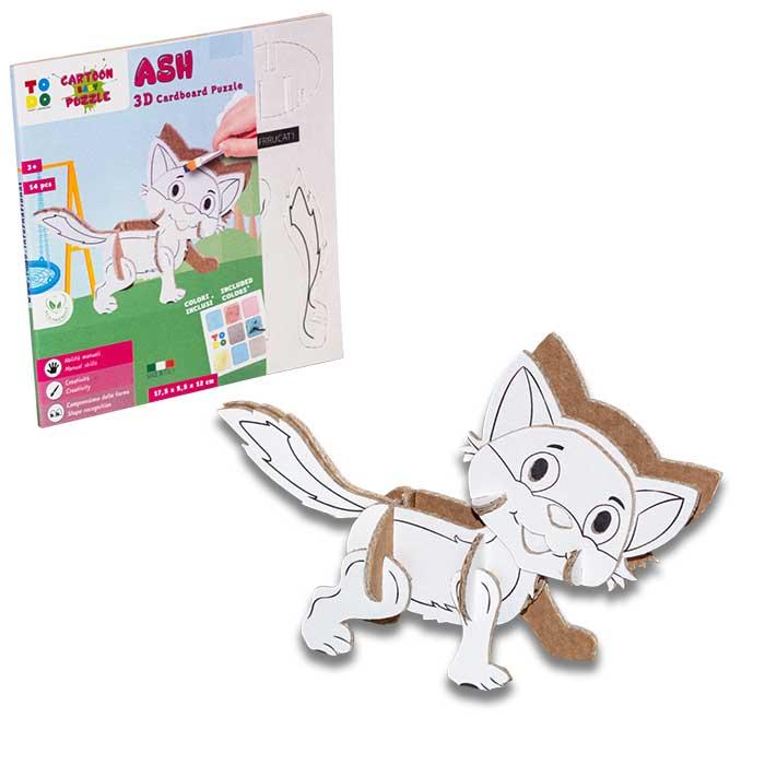 ash-gattino-animali-cartone-scatola