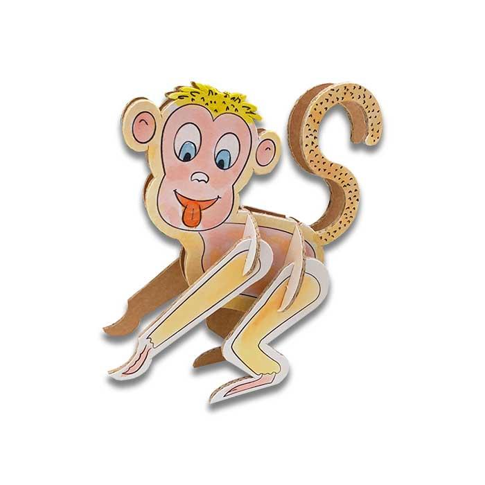 berny-scimmia-animaletti-cartone-colorato