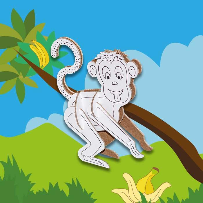 berny-scimmia-animaletti-cartone-sfondo