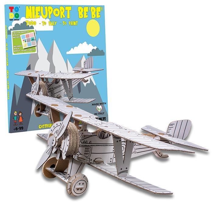 nieuport-bebe-aereo-cartone-scatola