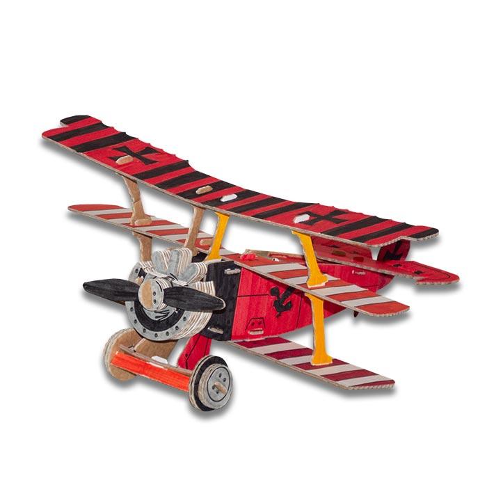 red-baron-aereo-cartone-colorato