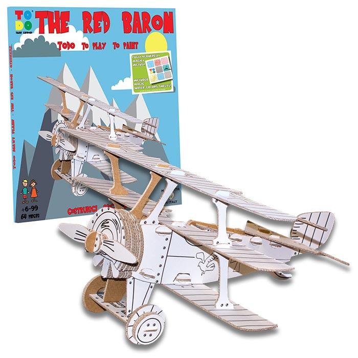 red-baron-aereo-cartone-scatola