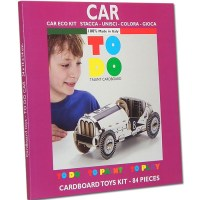 CAR TOY TO DO, PAINT AND PLAY FOR KID