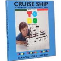 cardboard toys to do to paint to play cruise ship