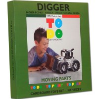 DIGGER TOYS FOR KIDS CREATE, PAINT AND PLAY