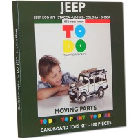 JEEP CARDBOARD TOYS FOR KIDS