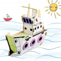 todo ship cardboard toy