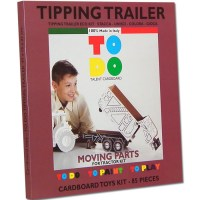 TOYS TIPPING TRAILER CARDBOARD