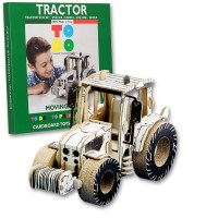 TODO TRACTOR TALENT CARDBOARD TOYS