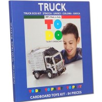TODO TRUCK CARDBOARD TOYS BOX TO DO TO PLAY