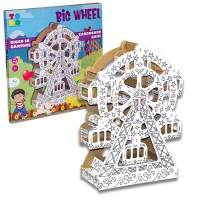 routa panoramica in cartone - big wheel cardboard - lunapark