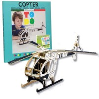 copter todo cardboard toys