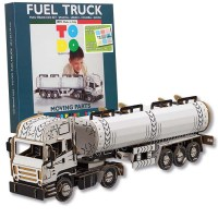 TODO FUEL TRUCK GAME FOR KIDS OF CARDBOARD