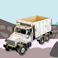 TODO SAND TRUCK CARDBOARD TOYS