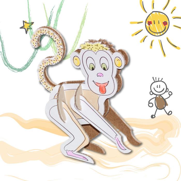 scimmia-di-carta-berny