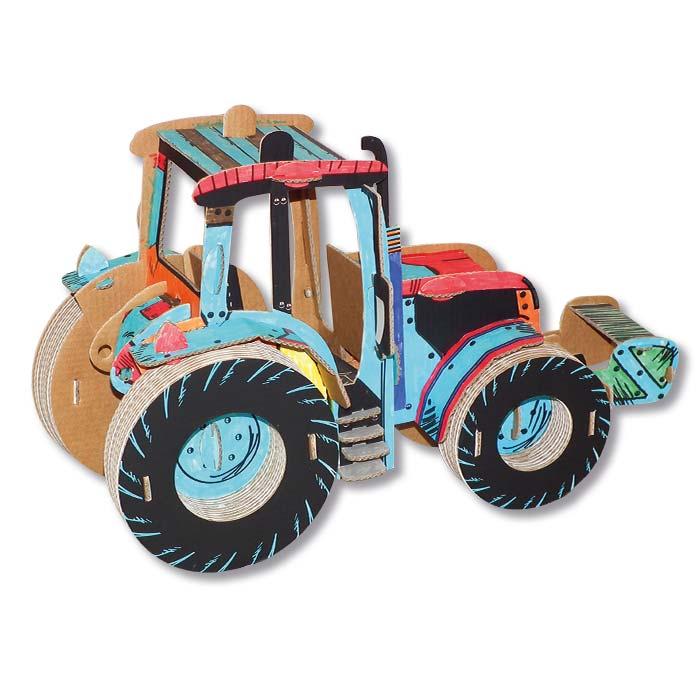 tractor-trattore-cartone-colorato